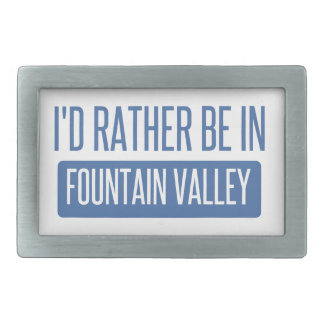I'd rather be in Fountain Valley Belt Buckles