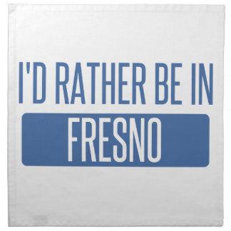 I'd rather be in Fresno Napkin