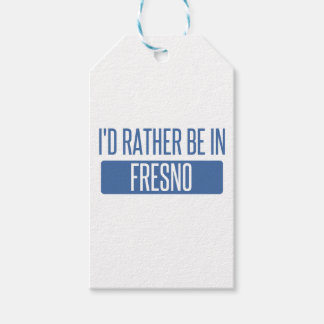 I'd rather be in Fresno Pack Of Gift Tags