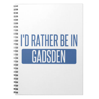I'd rather be in Gadsden Spiral Notebook