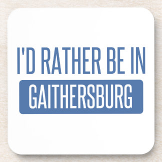 I'd rather be in Gaithersburg Coaster