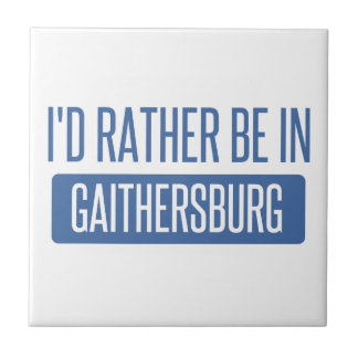 I'd rather be in Gaithersburg Tile