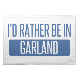 I'd rather be in Garland Placemat