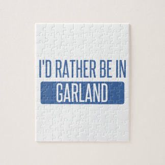 I'd rather be in Garland Puzzle