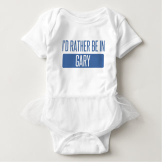 I'd rather be in Gary Baby Bodysuit