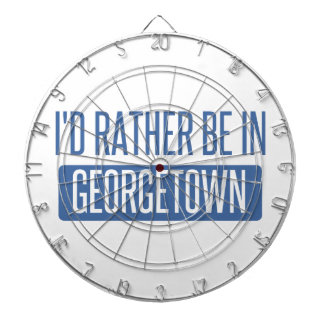 I'd rather be in Georgetown Dartboard