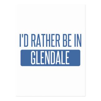 I'd rather be in Glendale AZ Postcard