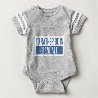 I'd rather be in Glendale CA Baby Bodysuit