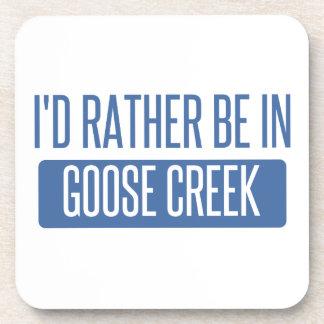 I'd rather be in Goose Creek Beverage Coaster