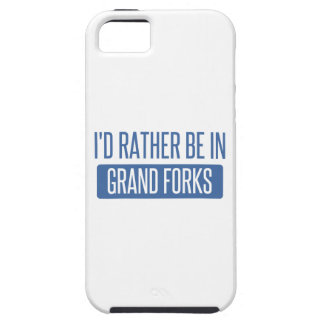 I'd rather be in Grand Forks iPhone 5 Covers
