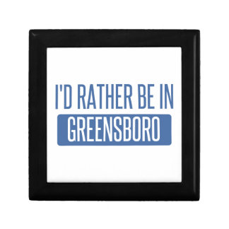 I'd rather be in Greensboro Gift Box