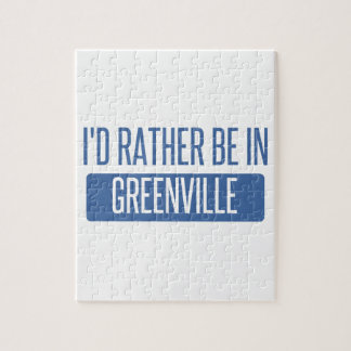 I'd rather be in Greenville SC Jigsaw Puzzle