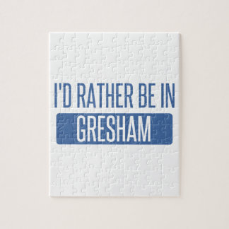 I'd rather be in Gresham Jigsaw Puzzle