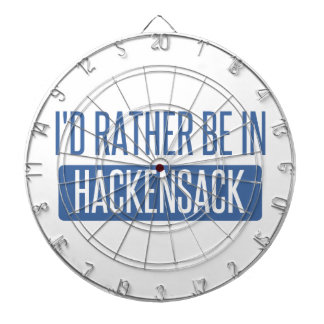 I'd rather be in Hackensack Dartboard