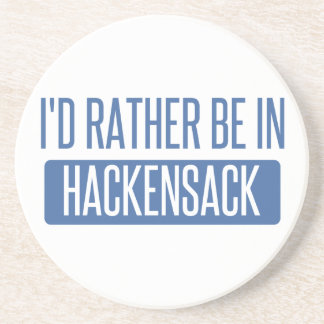 I'd rather be in Hackensack Drink Coasters
