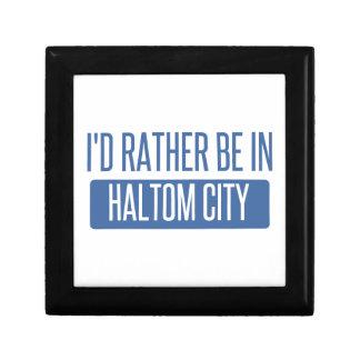 I'd rather be in Haltom City Gift Box