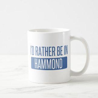 I'd rather be in Hammond Coffee Mug