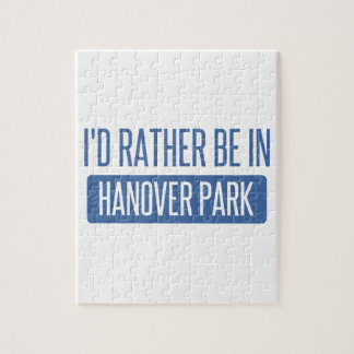 I'd rather be in Hanover Park Jigsaw Puzzle