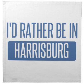 I'd rather be in Harrisburg Napkin