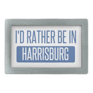 I'd rather be in Harrisburg Rectangular Belt Buckles