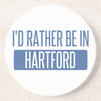 I'd rather be in Hartford Coaster