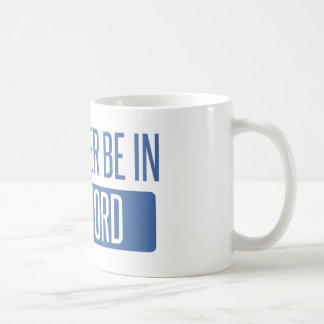 I'd rather be in Hartford Coffee Mug