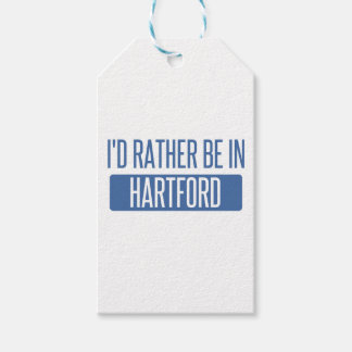 I'd rather be in Hartford Pack Of Gift Tags