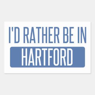 I'd rather be in Hartford Sticker