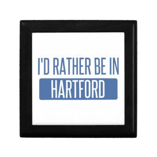 I'd rather be in Hartford Trinket Boxes