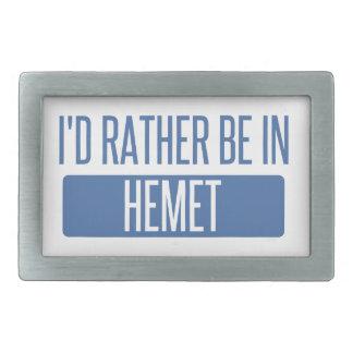 I'd rather be in Hemet Belt Buckles