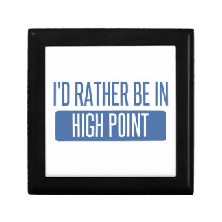I'd rather be in High Point Gift Box