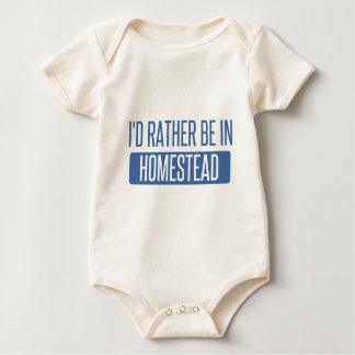 I'd rather be in Honolulu Baby Bodysuit
