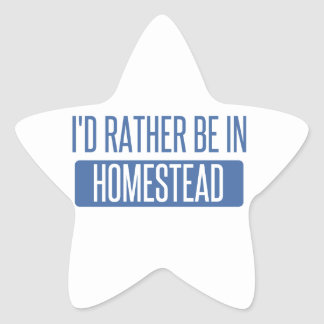 I'd rather be in Honolulu Star Sticker