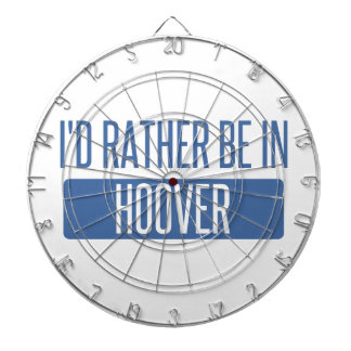 I'd rather be in Hoover Dartboard