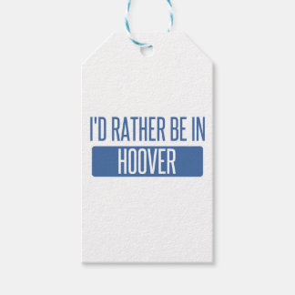 I'd rather be in Hoover Gift Tags