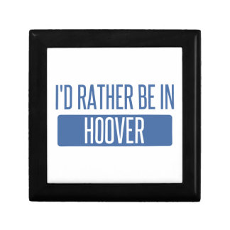 I'd rather be in Hoover Jewelry Boxes