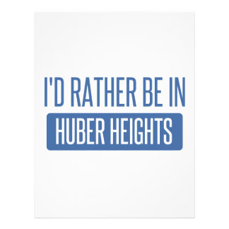 I'd rather be in Huber Heights Letterhead