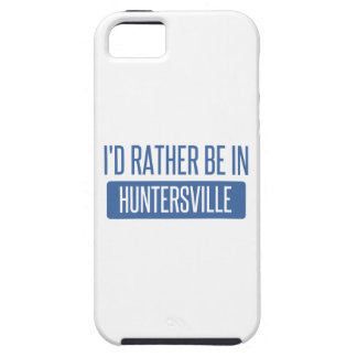I'd rather be in Huntersville iPhone 5 Covers