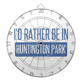 I'd rather be in Huntington Park Dartboard