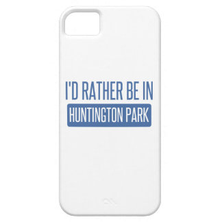 I'd rather be in Huntington Park iPhone 5 Cases