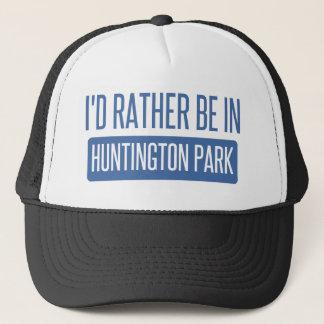 I'd rather be in Huntington Park Trucker Hat