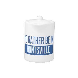 I'd rather be in Huntsville AL