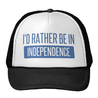 I'd rather be in Independence Trucker Hat