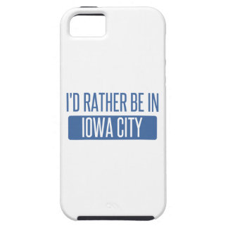 I'd rather be in Iowa City iPhone 5 Covers