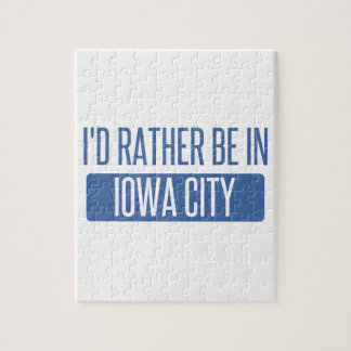 I'd rather be in Iowa City Puzzle