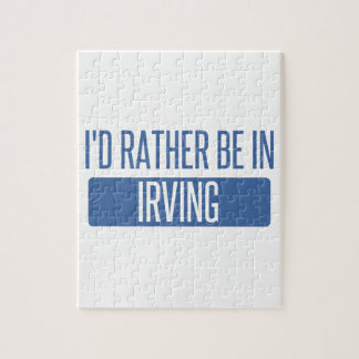 I'd rather be in Irving Puzzle