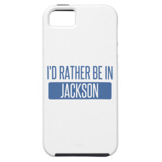 I'd rather be in Jackson MS iPhone 5 Covers