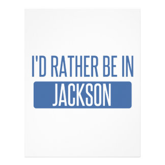 I'd rather be in Jackson TN Letterhead