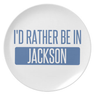 I'd rather be in Jackson TN Plate