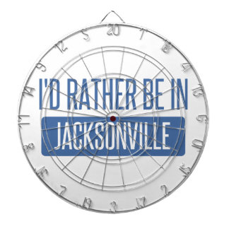 I'd rather be in Jacksonville NC Dartboard